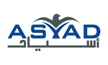 Flat logo design by Qous Qazah