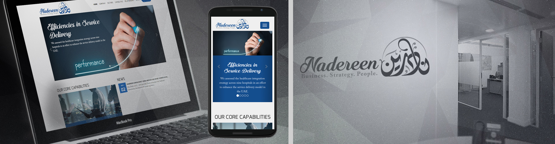 Web Development for Nadereen