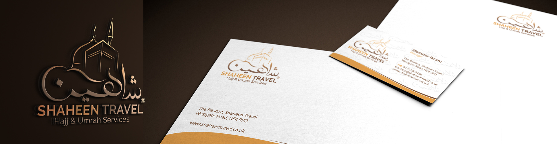 Corporate Identity Design for Shaheen Travel