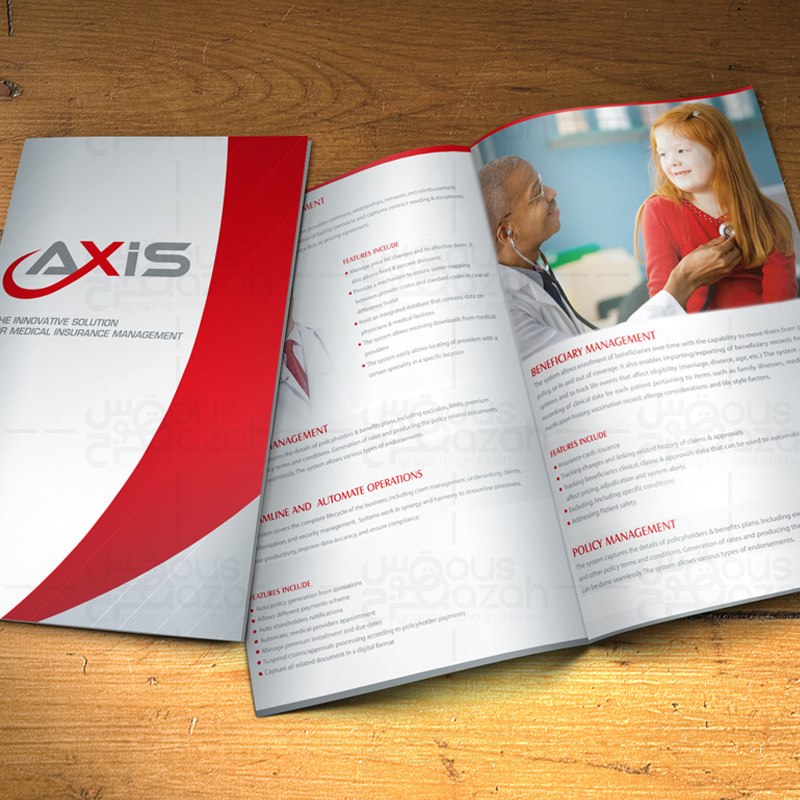 Axis - Brochure Design