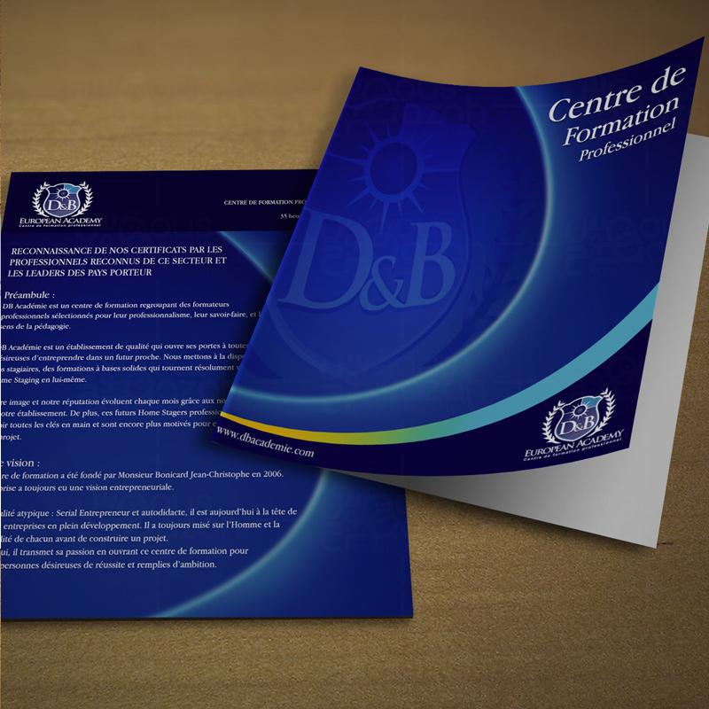 D&B - Brochure Design