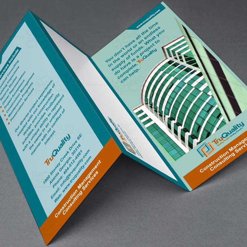 Quality Trip Brochure Design