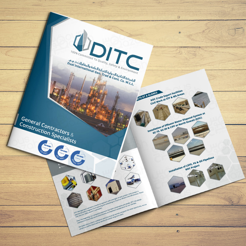 DITC - Brochure Design