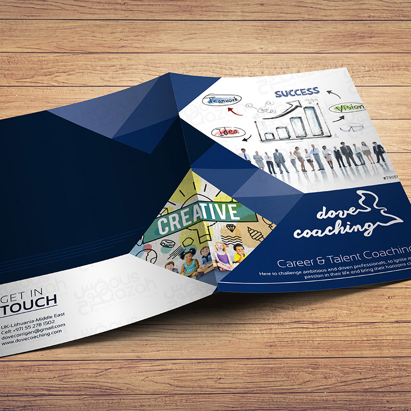 Dove Coaching - Brochure Design