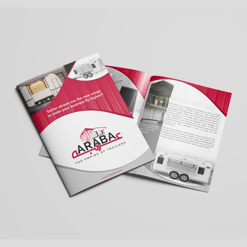 Araba - Brochure Design