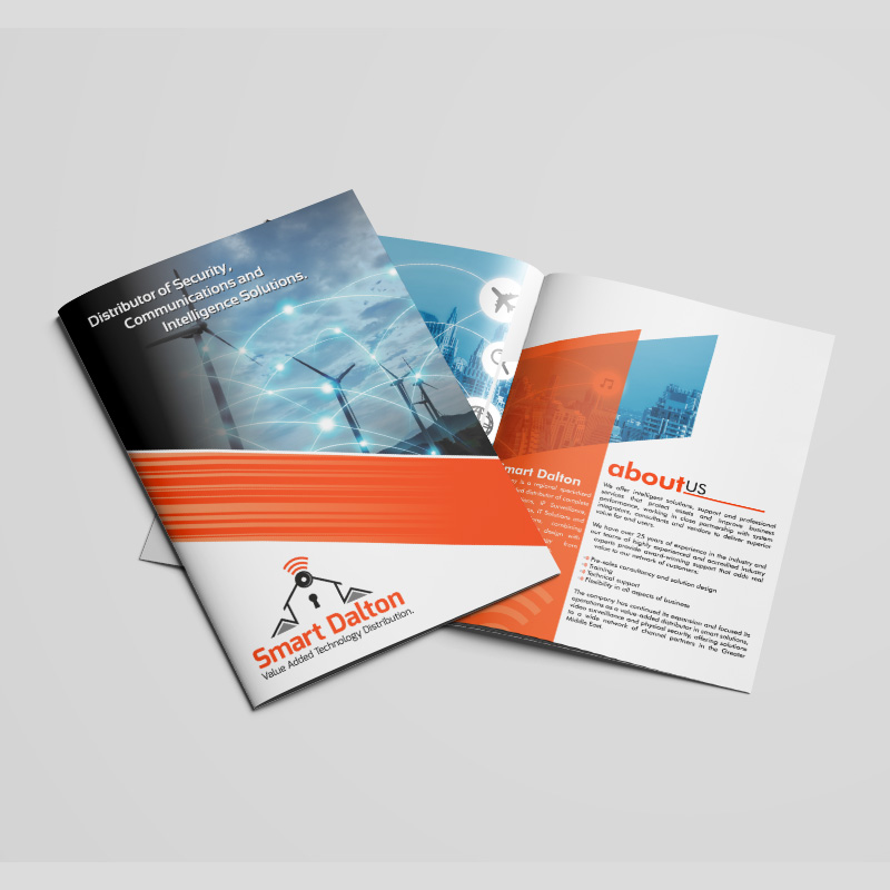 Smart Dalton - Brochure Design