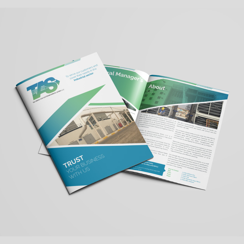 TAS Energy - Brochure Design
