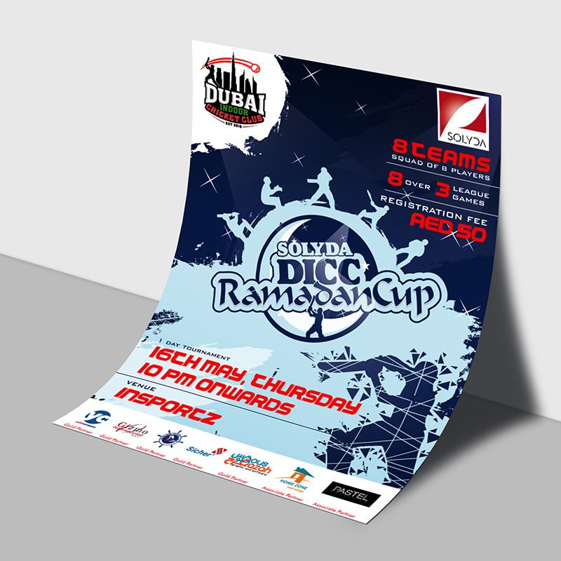 SOLYDA DICC Ramadan Cup - Flyer Design