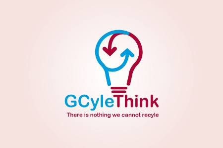 GCyle Think Logo Design