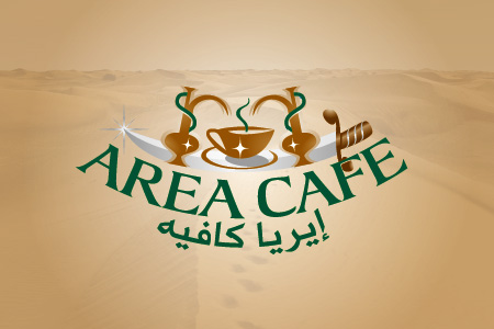 Area Cafe Logo Design