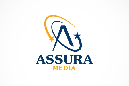 Assura Media Logo Design