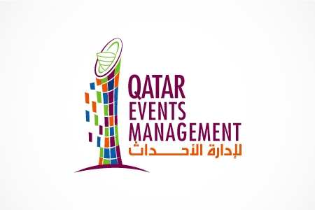 Qatar Events Management Logo Design