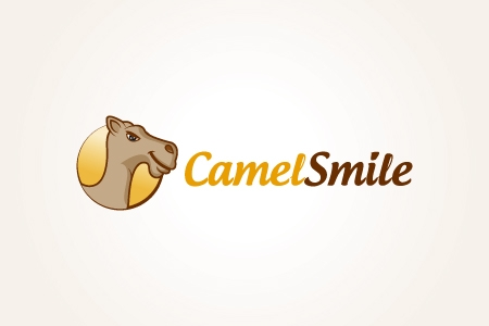 Camel Smile Logo Design