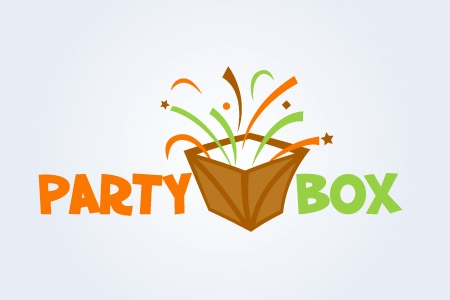 Party Box Logo Design