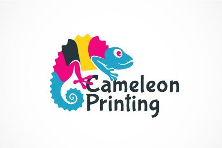 Cameleon Printing Logo Design