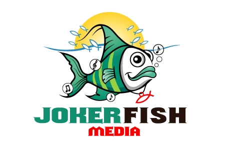 Joker Fish Logo Design