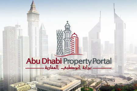 Abu Dhabi Property Portal Logo Design