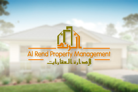 Al Rend Property Management Logo Design