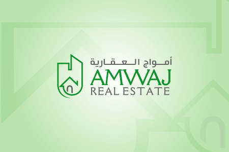 Amwaj Real Estate Logo Design