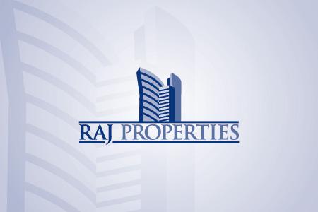 Raj Properties Logo Design