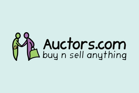 Auctors.com Logo Design