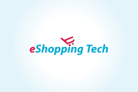 e-Shopping Tech Logo Design