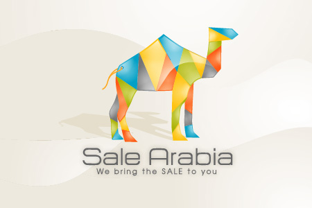 Sale Arabic Logo Design
