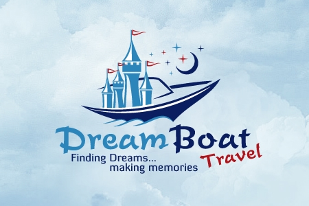Dream Boat Travel Logo Design