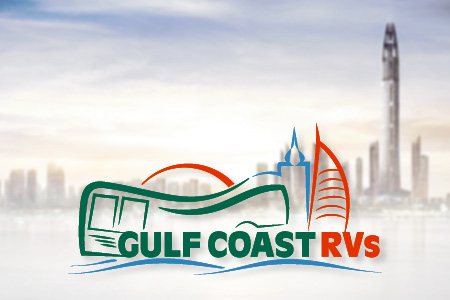 Gulf Coast Rvs Logo Design