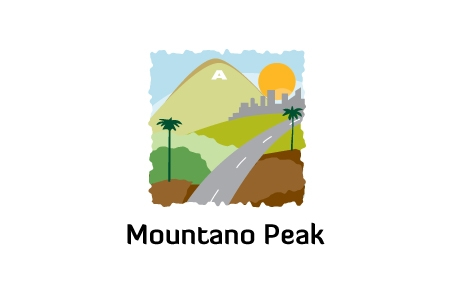 Mountano Peak Logo Design