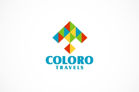 Coloro Travels Logo Design