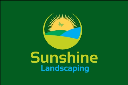 Sunshine Landscaping Logo Design