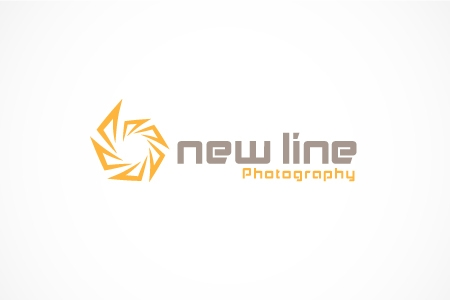 New Line Photography Logo Design