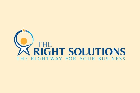 The Right Solutions Logo Design