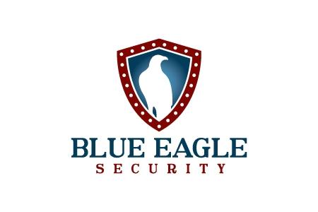 blue eagle logo design by qousqazah in dubai uae