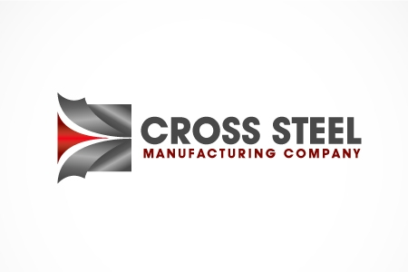 Cross Steel Logo Design
