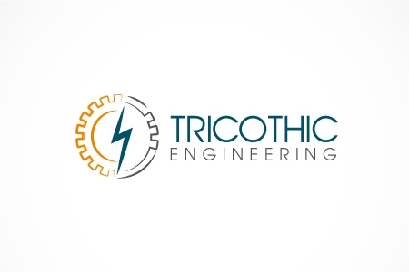 Tricothic Engineering Logo Design