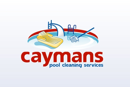 Cayman pool cleaning services logo design by qousqazah in for Pool design logo