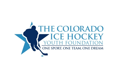 The Colorado Ice Hockey Logo Design