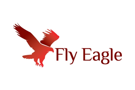 Fly Eagle Logo Design
