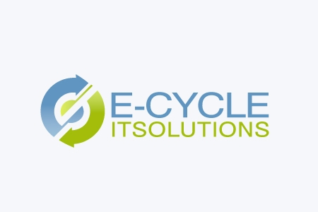 E-Cycle IT Solutions Logo Design