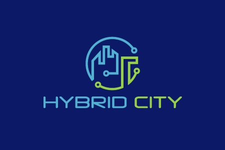Hybrid City Logo Design