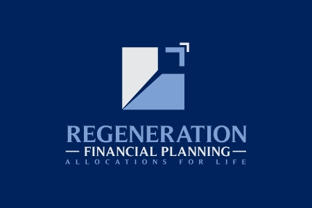 Regeneration Financial Planning Logo Design