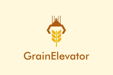 Grain Elevator Logo Design