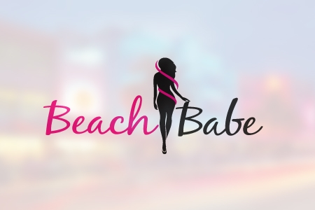 Beach Babe Logo Design