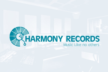 Harmony Records Logo Design