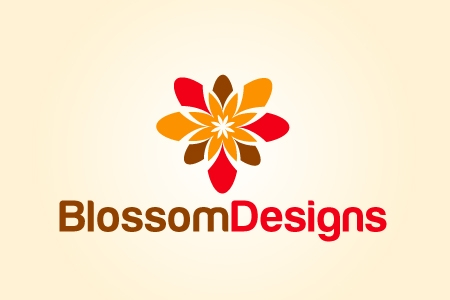 Blossom Design Logo Design