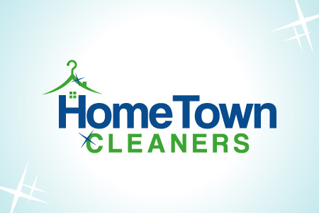Home Town Cleaners Logo Design