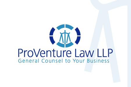 Proventure Law LLP Logo Design
