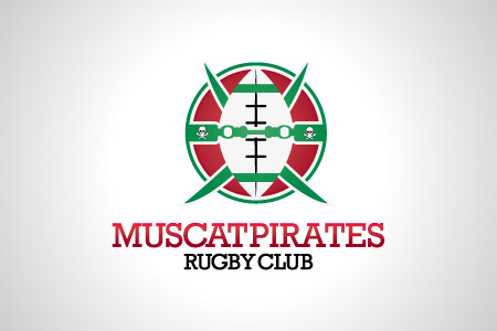 Muscat Pirates Logo Design
